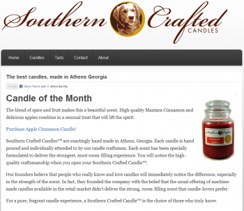 Southern Crafted Candles